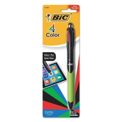 Picture of 4-Color Stylus Ball Pen, Assorted