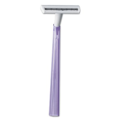 Picture of Silky Touch Women's Disposable Razor, 2 Blades, Assorted Colors, 10/Pack