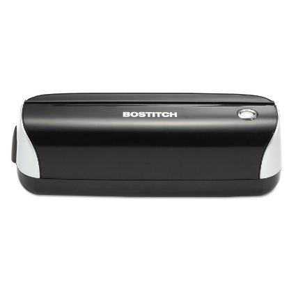 Picture of 12-Sheet Electric Three-Hole Punch, Black