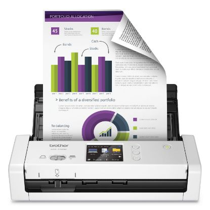 Picture of ADS1700W Wireless Compact Color Desktop Scanner with Duplex and Touchscreen