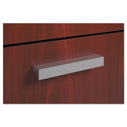 Picture of BL Series Field Installed Contemporary Pull, Linear, 4.75w x 0.75d x 0.75h, Silver, 2/Carton