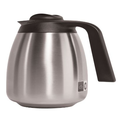 Picture of 1.9 Liter Thermal Carafe, Stainless Steel/Black