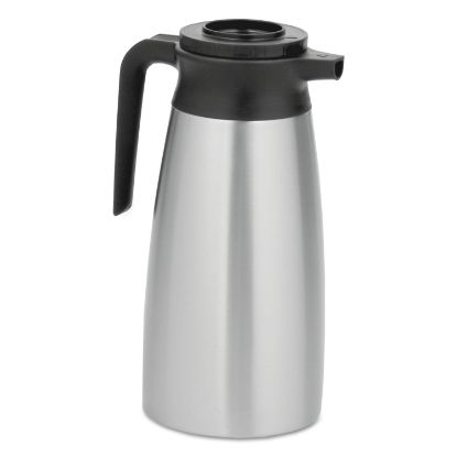 Picture of 1.9 Liter Thermal Pitcher, Stainless Steel/Black
