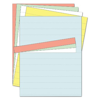 Picture of Data Card Replacement Sheet, 8 1/2 x 11 Sheets, Assorted, 10/PK