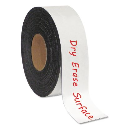 """Picture of Dry Erase Magnetic Tape Roll, White, 2"""" x 50 Ft."""