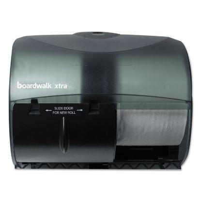 Picture of Boardwalk Xtra 2-Roll Controlled Bath Tissue Dispenser,11 1/8x7 3/8x8 7/8, Black