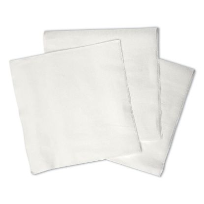 """Picture of 1/4-Fold Lunch Napkins, 1-Ply, 12"""" x 12"""", White, 6000/Carton"""