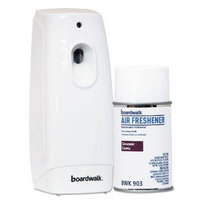 Picture of Air Freshener Dispenser Starter Kit, White, Cinnamon Sunset, 5.3 oz