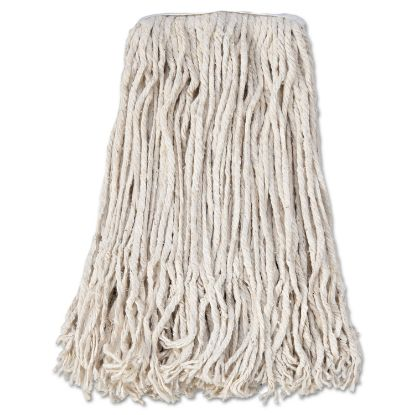 Picture of Banded Cotton Mop Head, #24, White, 12/Carton