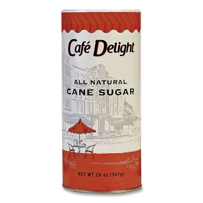 Picture of All Natural Cane Sugar. 20 oz Canister