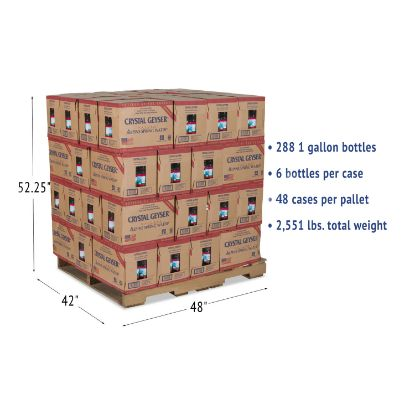 Picture of Alpine Spring Water, 1 Gal Bottle, 6/Case, 48 Cases/Pallet