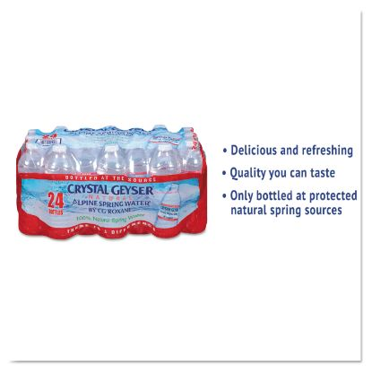 Picture of Alpine Spring Water, 16.9 oz Bottle, 24/Case