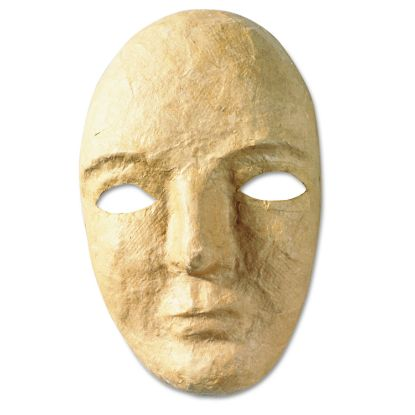 """Picture of Paper Mache Mask Kit, 8 x 5 1/2"""""""
