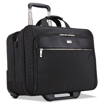 """Picture of 17"""" Checkpoint Friendly Rolling Laptop Case, 17.9"""" x 10.6"""" x 14.8"""", Black"""