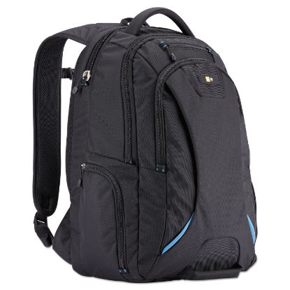 """Picture of 15.6"""" Checkpoint Friendly Backpack, 2.76"""" x 13.39"""" x 19.69"""", Polyester, Black"""