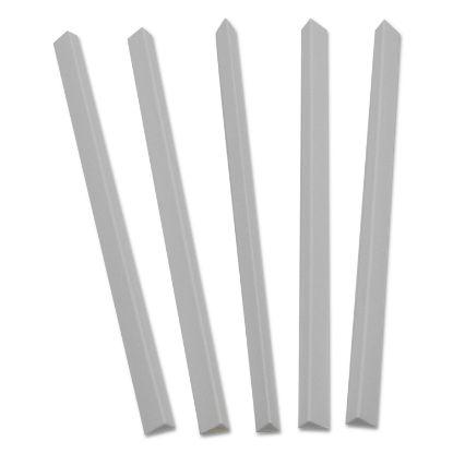 Picture of Slide 'N Grip Binding Bars, White, 11 x 1/2, 100/Box