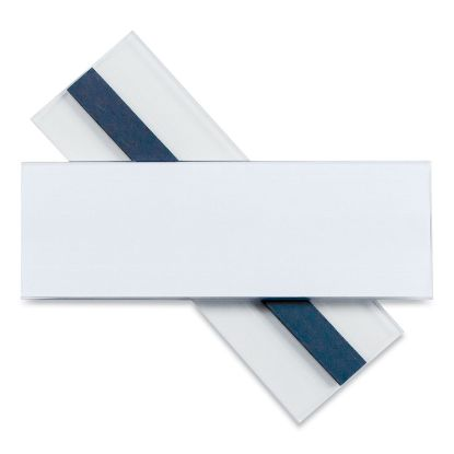 Picture of Clear Magnetic Label Holders, Side Load, 6 x 2, Clear, 10/Pack