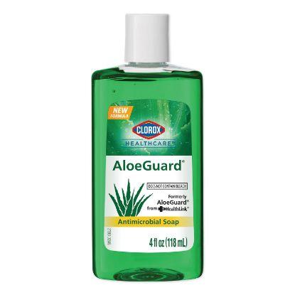 Picture of AloeGuard Antimicrobial Soap, Aloe Scent, 4 oz Bottle, 24/Carton
