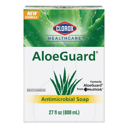 Picture of AloeGuard® Antimicrobial Soap, Aloe Scent, 27 oz Bag, 12/Carton