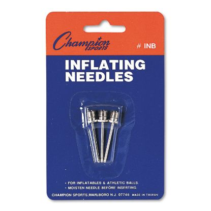 Picture of Nickel-Plated Inflating Needles for Electric Inflating Pump, 3/Pack