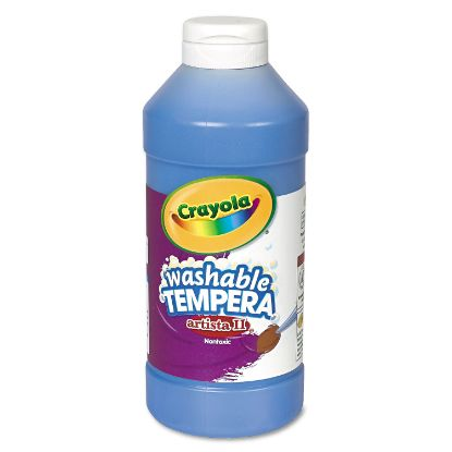 Picture of Artista II Washable Tempera Paint, Blue, 16 oz