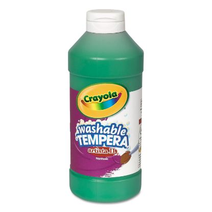 Picture of Artista II Washable Tempera Paint, Green, 16 oz