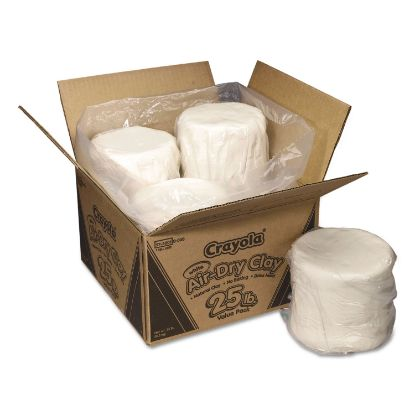 Picture of Air-Dry Clay, White, 25lb Box