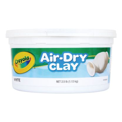 Picture of Air-Dry Clay, White, 2 1/2 lbs