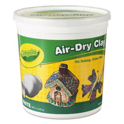 Picture of Air-Dry Clay, White, 5 lbs