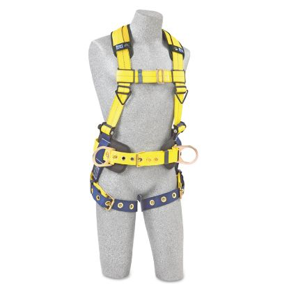 Picture of Full-Body Harness, Tongue Buckles, Side/Back D-Rings, Large, 420lb Capacity