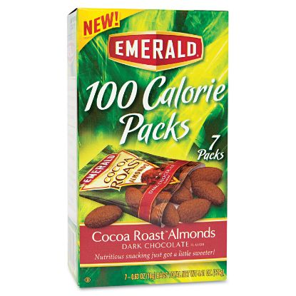 Picture of 100 Calorie Pack Cocoa Roast Almonds, 0.63 oz Packs, 7/Box