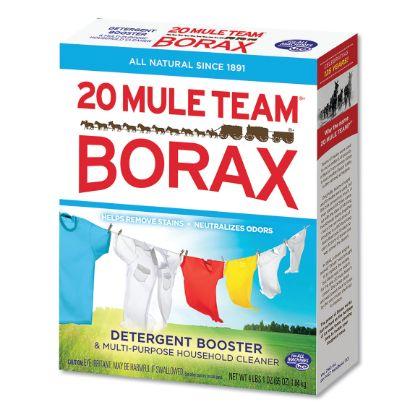 Picture of 20 Mule Team Borax Laundry Booster, Powder, 4 lb Box, 6 Boxes/Carton