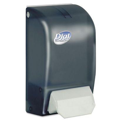 "Picture of 1 Liter Manual Foaming Dispenser, 1000 mL, 5"" x 4.5"" x 9"", Smoke"