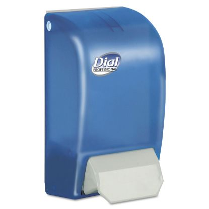 "Picture of 1 Liter Manual Foaming Dispenser, 5"" x 4.5"" x 9"", Blue"