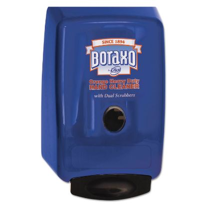 """Picture of 2L Dispenser for Heavy Duty Hand Cleaner, 10.49"""" x 4.98"""" x 6.75"""", Blue"""
