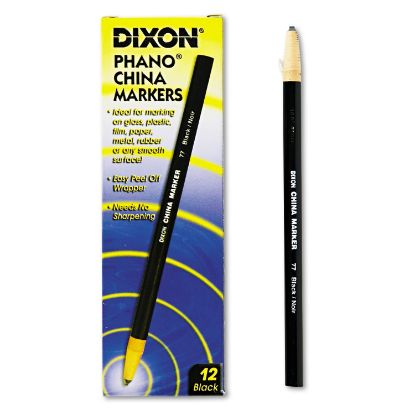 Picture of China Marker, Black, Dozen