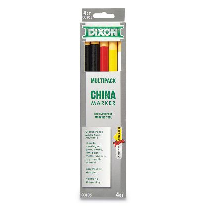 Picture of China Marker, Assorted, 5/Set