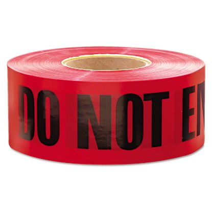 """Picture of 1,000 ft. x 3 in. """"Danger Do Not Enter"""" Barricade Tape (Red)"""