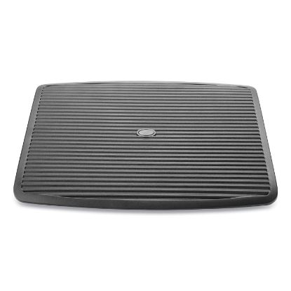 Picture of Adjustable Height Ergonomic Footrest, 17.62 x 14 x 3.75, Black