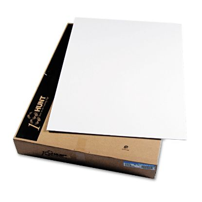 Picture of CFC-Free Polystyrene Foam Board, 30 x 40, White Surface and Core, 25/Carton