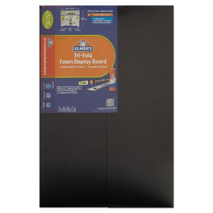 Picture of CFC-Free Polystyrene Foam Premium Display Board, 24 x 36, Black, 12/Carton