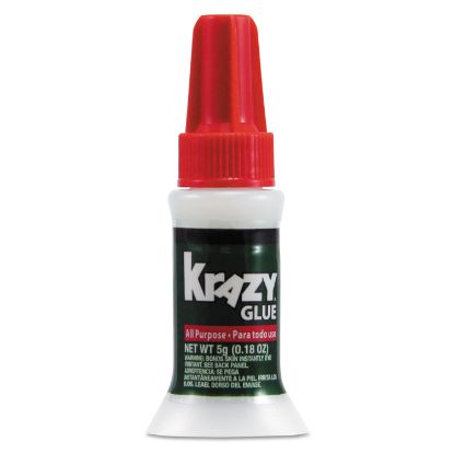 Picture of All Purpose Brush-On Krazy Glue, 0.17 oz, Dries Clear