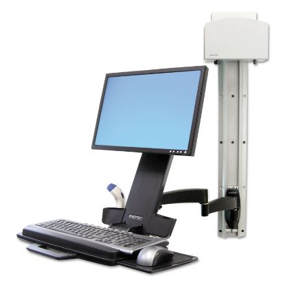 Picture of 200 Series Combo Arm, 17.5w x 39d x 17.5h, Black