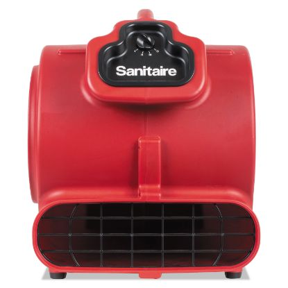 Picture of DRY TIME Air Mover, 3758 fpm, Red, 20 ft Cord