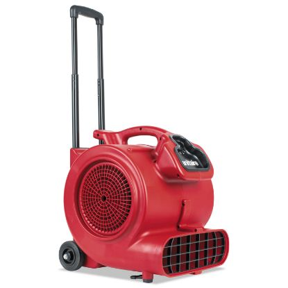 Picture of DRY TIME Air Mover with Wheels and Handle, 1281 cfm, Red, 20 ft Cord