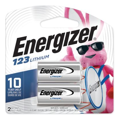 Picture of 123 Lithium Photo Battery, 3V, 2/Pack