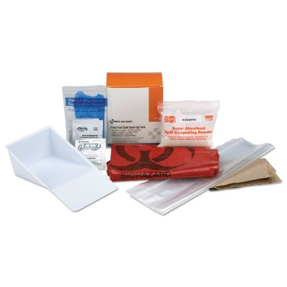 """Picture of BBP Spill Cleanup Kit, 3.625"""" x 4.312"""" x 2.25"""""""
