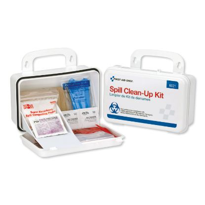 Picture of BBP Spill Cleanup Kit, 7 1/2 x 4 1/2 x 2 3/4, White