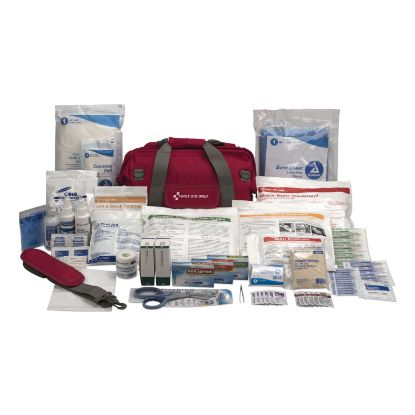 Picture of All Terrain First Aid Kit, 112 Pieces, Ballistic Nylon, Red