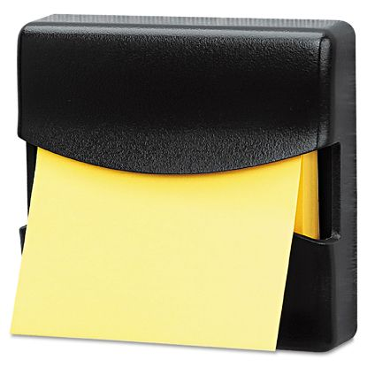 Picture of Partition Additions Pop-Up Note Dispenser for 3 x 3 Pads, Dark Graphite